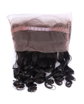"Loose wave virgin human hair 360 lace frontal 8""-20"" available"