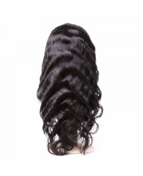 Mink Body Wave Virgin human hair full lace wig