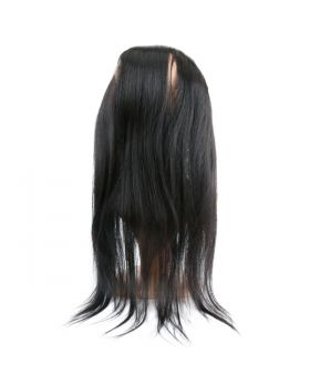 "Straight virgin human hair 360 lace frontal 8""-20"" available"