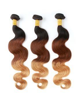 "1B427 Body wave Brazilian human hair bundles color hair 12""-30"" available"