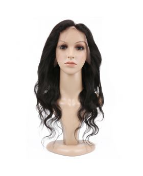 "Body wave virgin human hair 360 lace frontal 8""-20"" available"