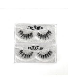 100%  3D mink eyelashes natural mink eyelashes for make up
