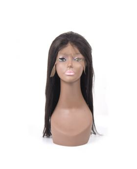 Mink Straight Virgin human hair full lace wig