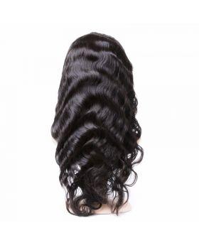 13x4 Brazilian Virgin human hair front lace wigs body wave wigs