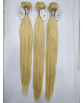 "Color 613 Blonde Hair Straight Hair Brazilian human hair bundles 10""-30"" available"